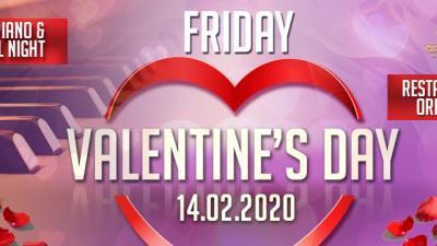 Празнуваме Св. Валентин и Трифон Зарезан с Live Piano Music в Ресторант Орфеида